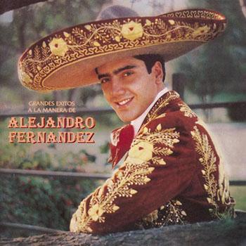 Grandes Éxitos A La Manera De Alejandro Fernández