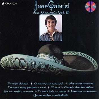 Juan Gabriel Con Mariachi Vol. II